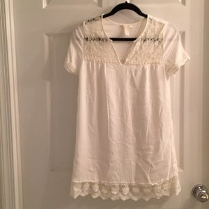 Romaric and cute Cotton and lace dress S